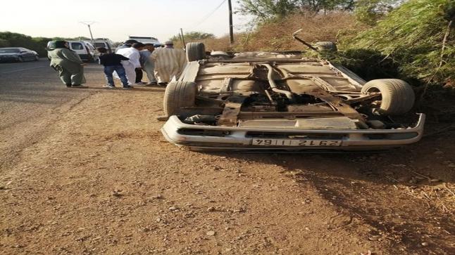 إصابات في حادت سير وقعت مساء عيد الفطر بالكفيفات ضواحي أولاد تايمة