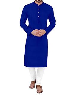 Traditional Plain all colors Kurta Pyjama Set for Men