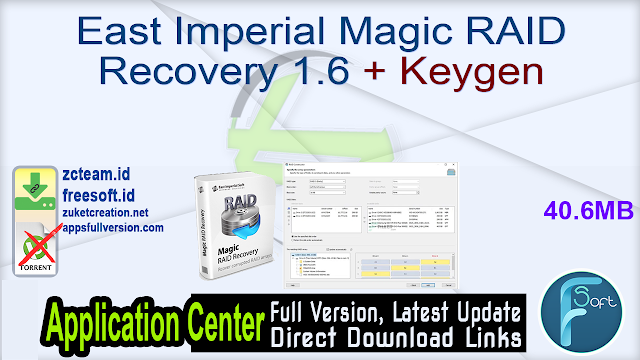 East Imperial Magic RAID Recovery 1.6 + Keygen_ ZcTeam.id