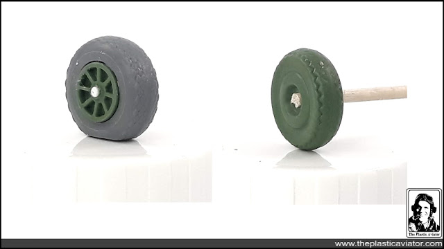 How to make realistic Aircraft wheels in 1/48