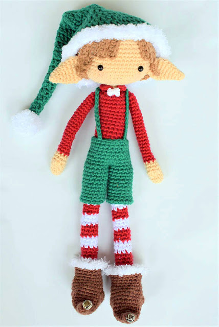 Amigurumi Elf Toy Softies Crochet Free Patterns | Crochet toys ... | 640x428