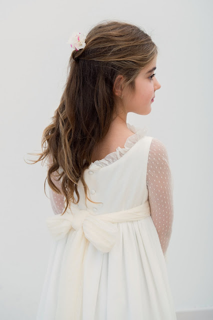 vestidos primera comunión confección a medida niñas niños ceremonia arras madrid