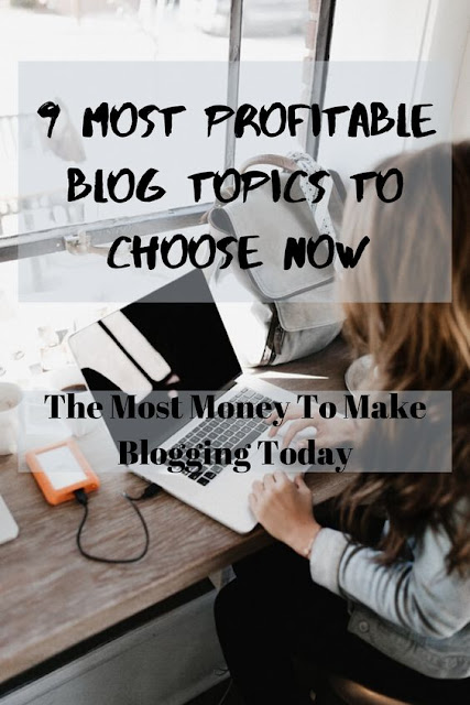 most profitable blog topics pinterest pin 2020