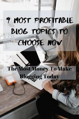 most profitable blog topics pinterest pin 2020