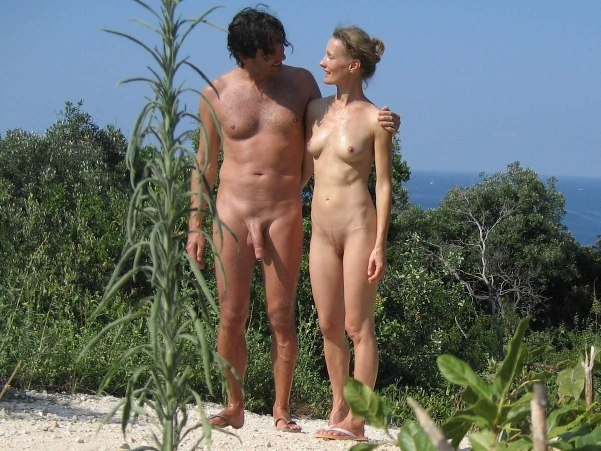 Boner At The Nude Beach