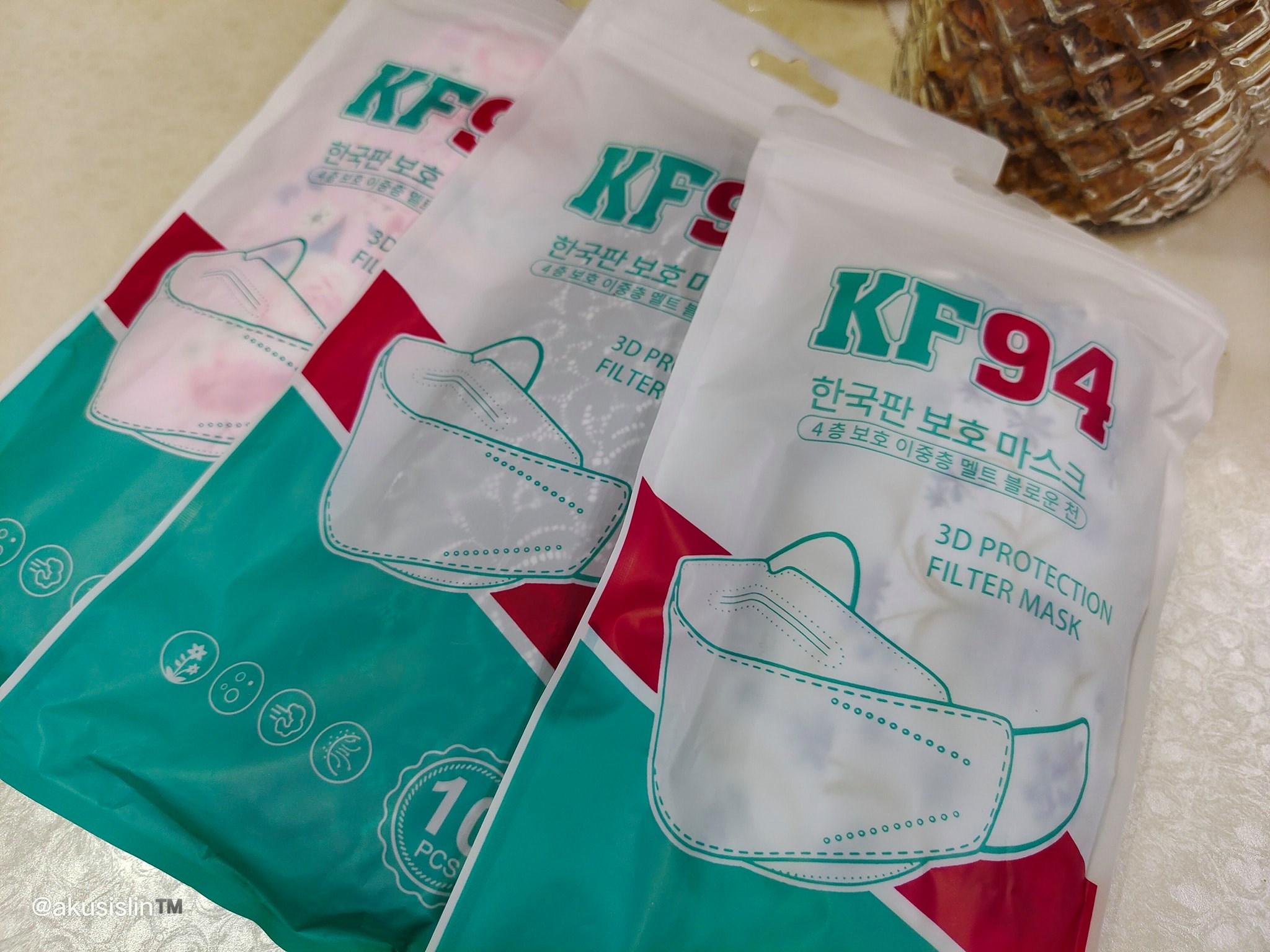 KF94 Facemask Kini Jadi Rebutan BIla Dah Viral