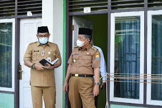 Wagub Abdullah Sani Tinjau Asrama Haji sebagai Lokasi Isolasi Covid- 19