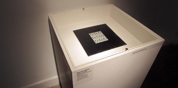 La plancha de estampillas usada en 'Nueve reinas'