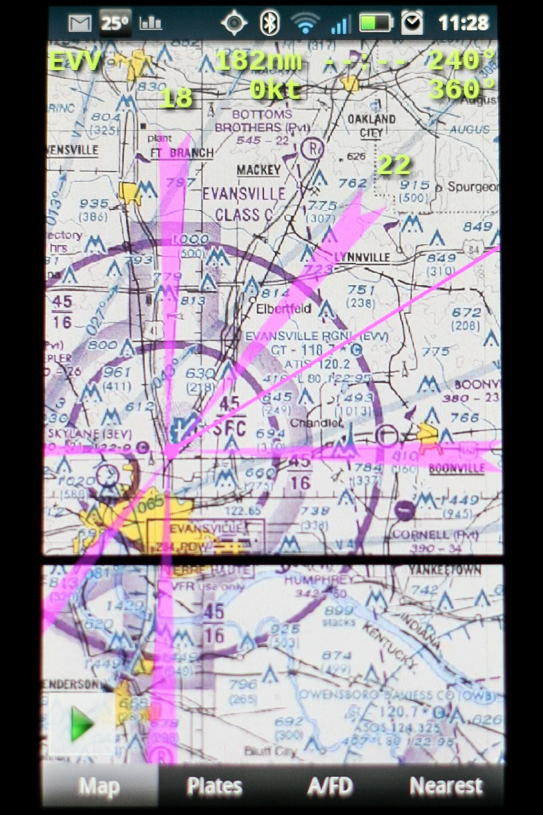 A Mile Of Runway Will Take You Anywhere Android App Review Avare - Chicago map gps