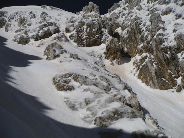 Variante d'uscita del canale dell'Orsacchiotta, Terminillo