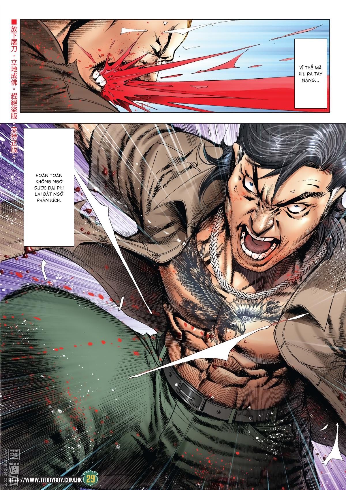 Người Trong Giang Hồ chapter 2033: kim tôn quý vs đại phi trang 26