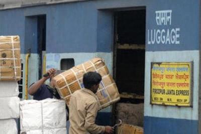 railway luggage