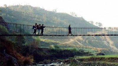 Jembatan Cidamar jaman Dulu