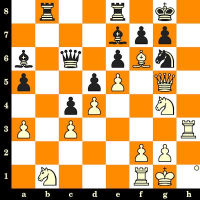 Les Blancs jouent et matent en 3 coups - Janos Balogh vs Geza Maroczy, Gyor, 1924