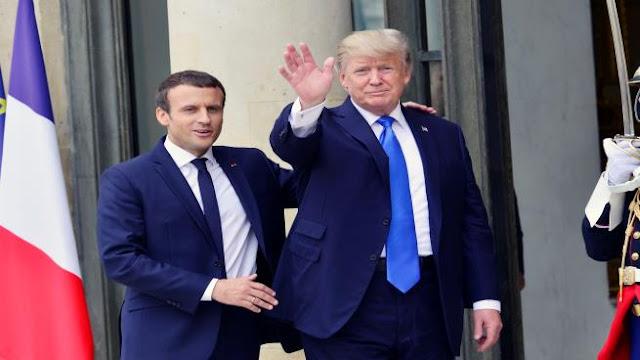 """الرئيس الفرنسي يفضل الاحتفاظ بسرية اتصالاته الهاتفية """"الفظيعة"""" مع ترامب"""