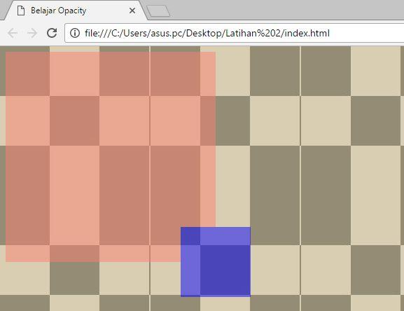 RGBa & HSLa - web desain