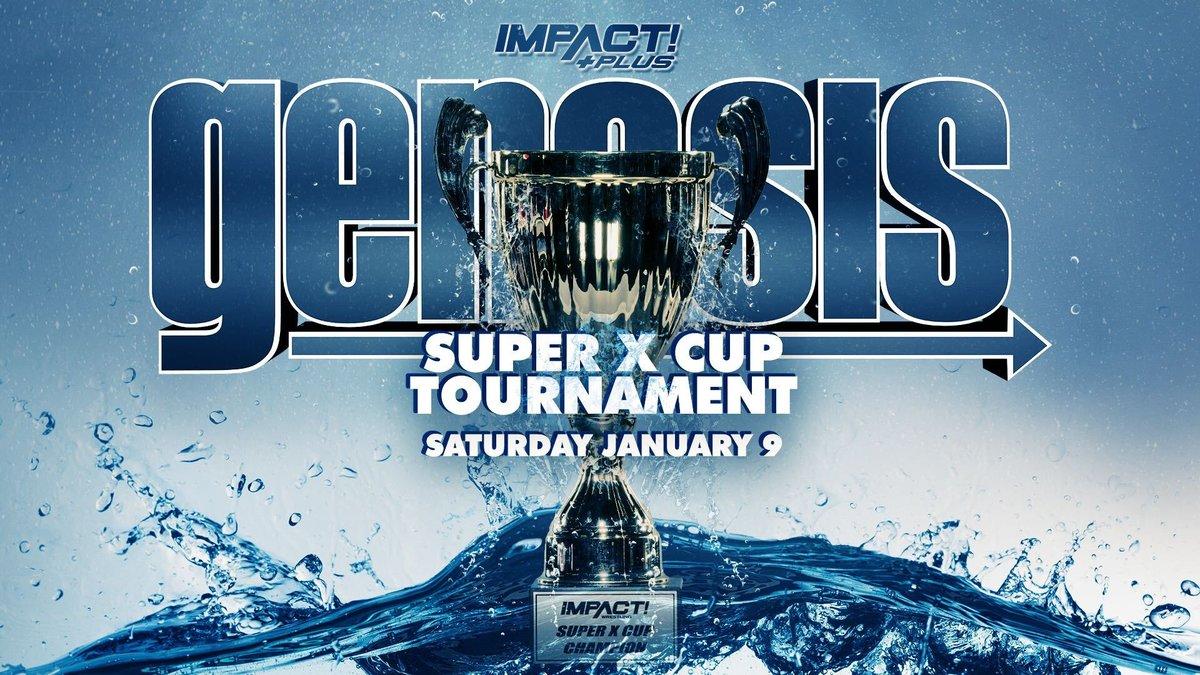 Impact Wrestling anuncia a volta da Super X Cup