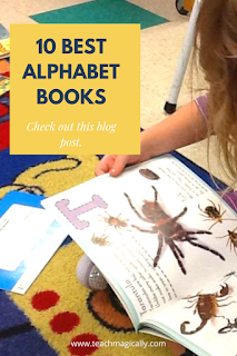 10 Best Alphabet Books By Teach Magically