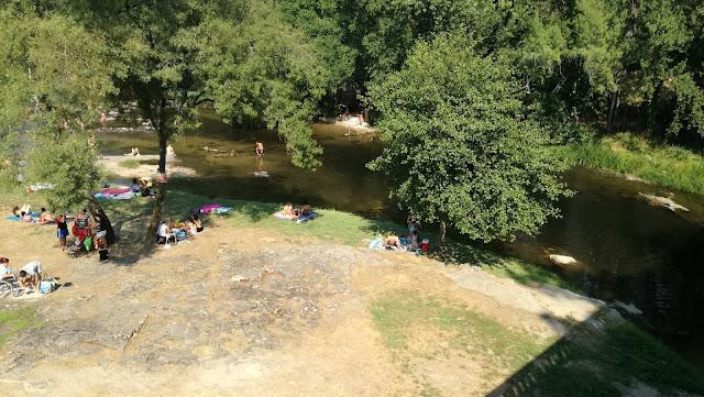 Rio Homem na Praia Fluvial de Loureira