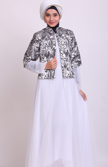 jubah batik kombinasi kebaya