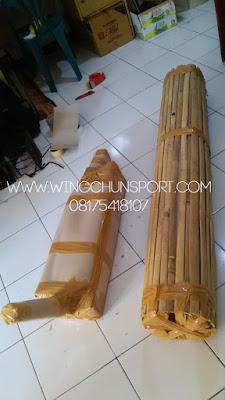 Mok yan jong atau wooden dummy siap dikirim