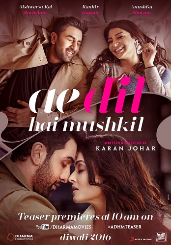 Ae Dil Hai Mushkil Full Movie Download HD AVI & MP4