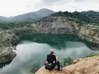 Danau Quarry Jayamix Rumpin Bogor