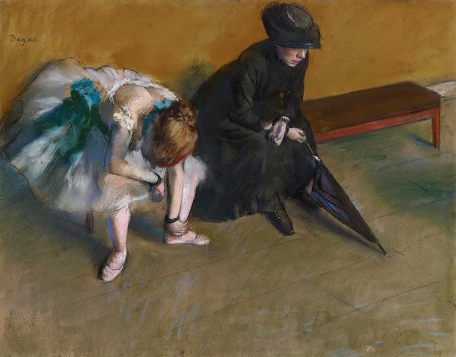 Эдгар Дега - Ожидание (ок.1882)