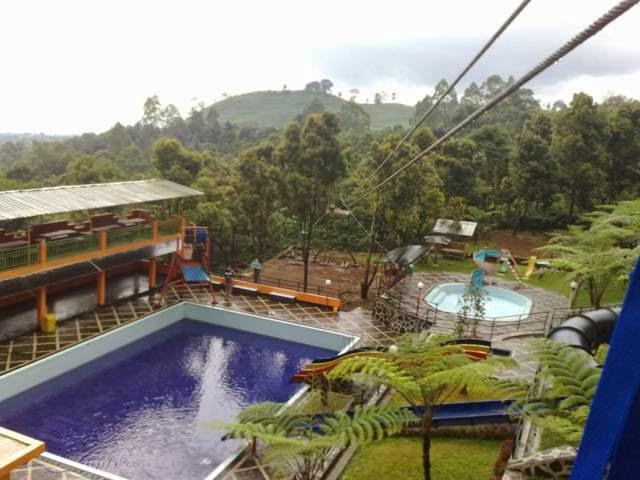 Villa 121 Lembang Jual Villa Di Ciater Fasilitas Water Boom