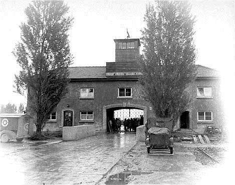 Image result for dachau concentration camp entrance