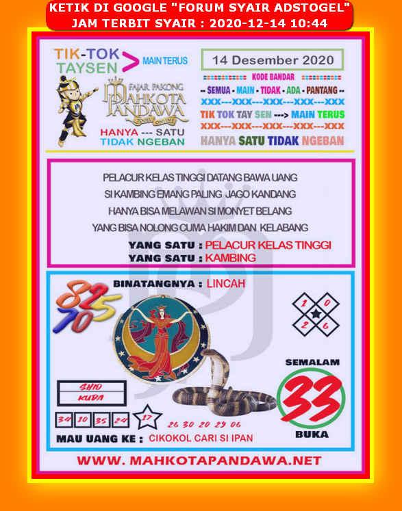 Forum Syair HK - Ramalan Syair Hongkong Toto