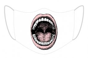 Maseczka otwarte usta