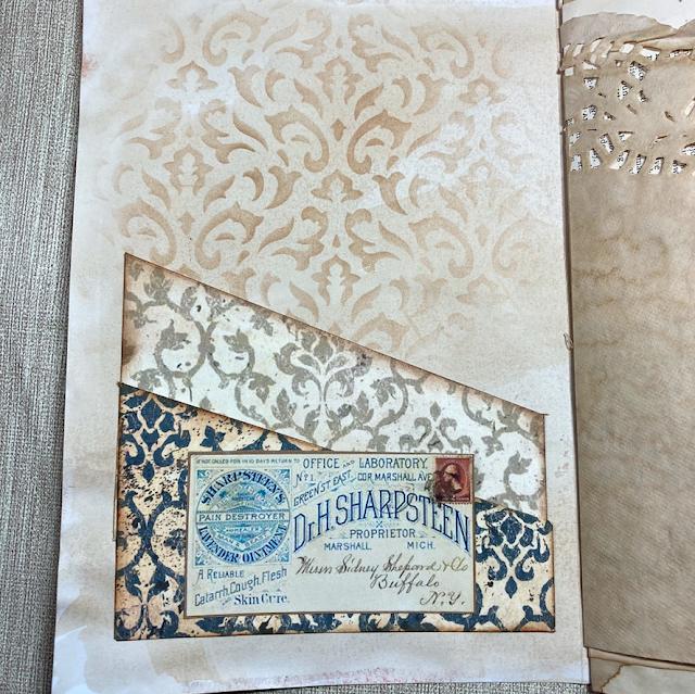 Vintage Days Journal: Pockets