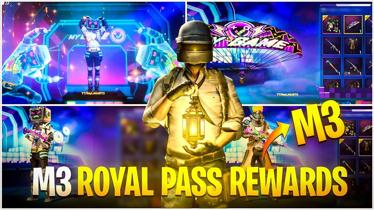 BGMI  Season M3 confirmed Rewards and Release date is here : Read the complete article