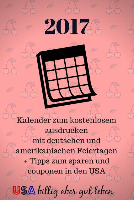 Tipps zum couponen auf diesen Kalender