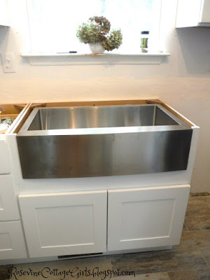 "Magnus 33"" apron front stainless steel farm sink"