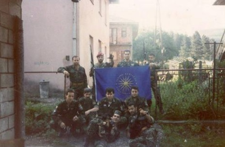 Greek Mercenaries participants at Srebrenica genocide in 1995 (Photo)