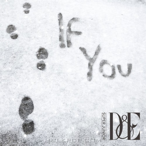 Super Junior-D&E – If You – Single (Japanese)