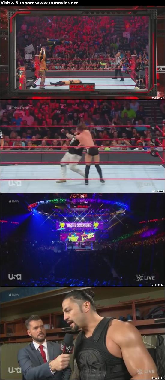 WWE Monday Night Raw 29 May 2017 HDTV 480p 500mb