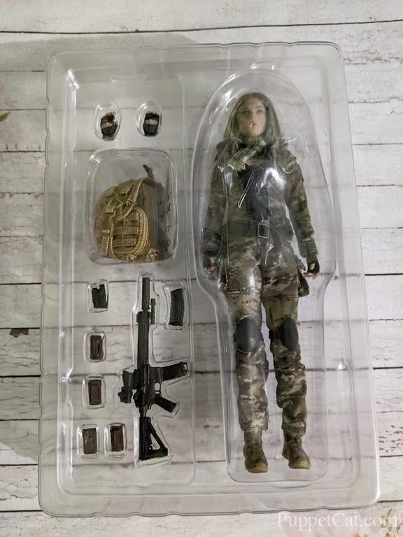 Verycool 1/12 Palm Treasure Series MC Camouflage Soldier Villa Figure