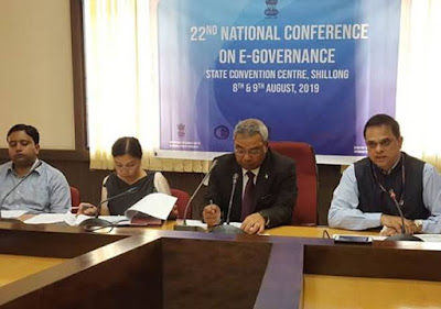 22nd National Conference on e-Governance 2019 Inaugurated in Shillong