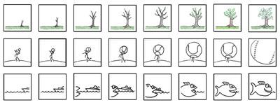 Make a Flip-Book Cartoon