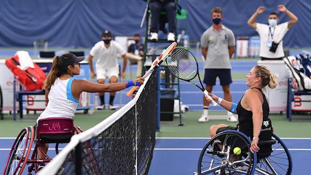 Wheelchair tennis tênis em cadeira de rodas us open 2020