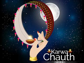 Happy Karwa Chauth Status in English