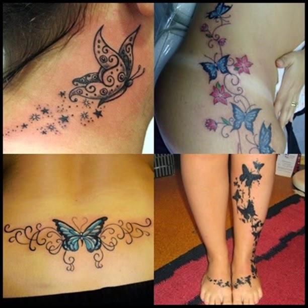 Tatuagem Com Borboletas E O Seu Significado Dicas Femininas
