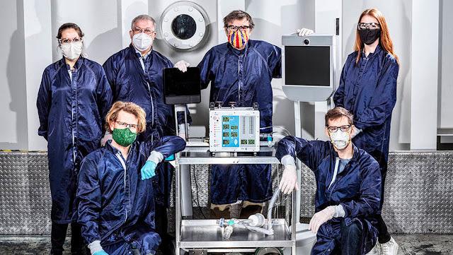 La NASA logra desarrollar un nuevo ventilador mecánico especialmente para pacientes con coronavirus