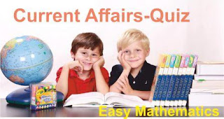 Current Affairs Quiz for SSC, Banking, RRB, JSSC, JPSC, UPSC