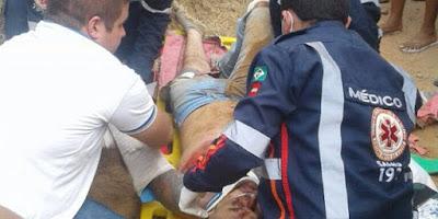 Acidente envolvendo ônibus escolar e moto leva homem a óbito no interior da Paraíba