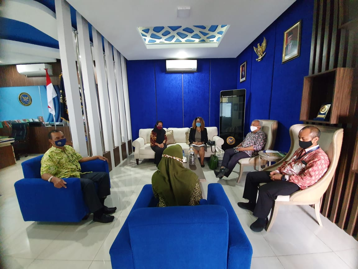 SMA Pradita Dirgantara Terima Kunjungan Direktur Institut Français d'Indonésie