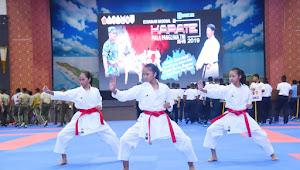 1.066 Peserta Ikuti Kejurnas Karate Piala Panglima TNI